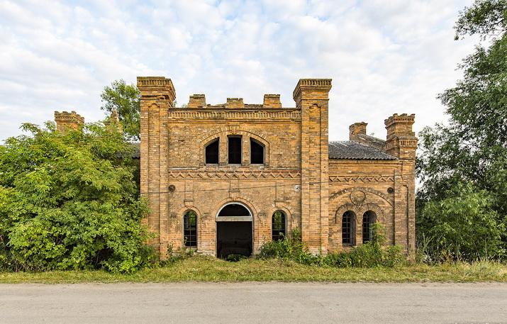 Новофастов, мельница