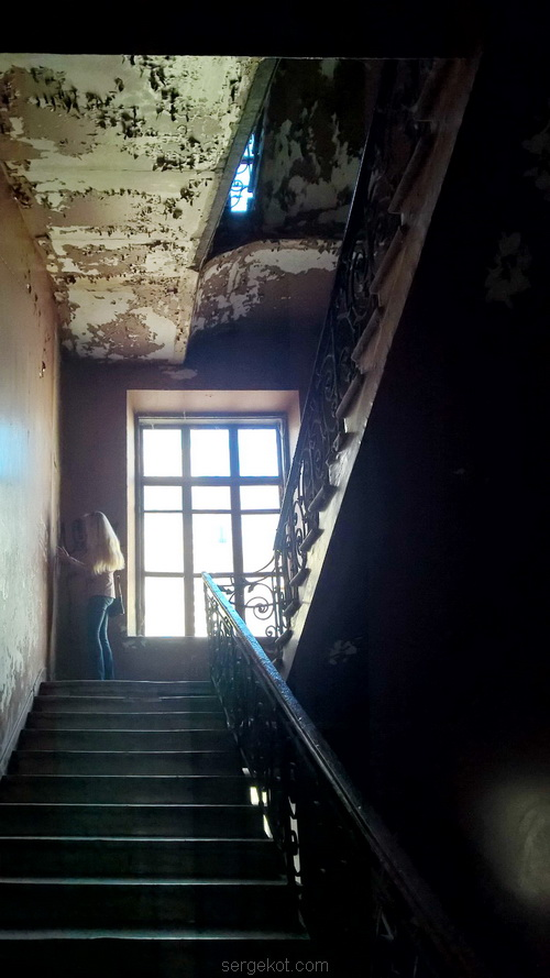Одесса, Екатерининская, площадь, Парадная, дом, лестница, мрамор