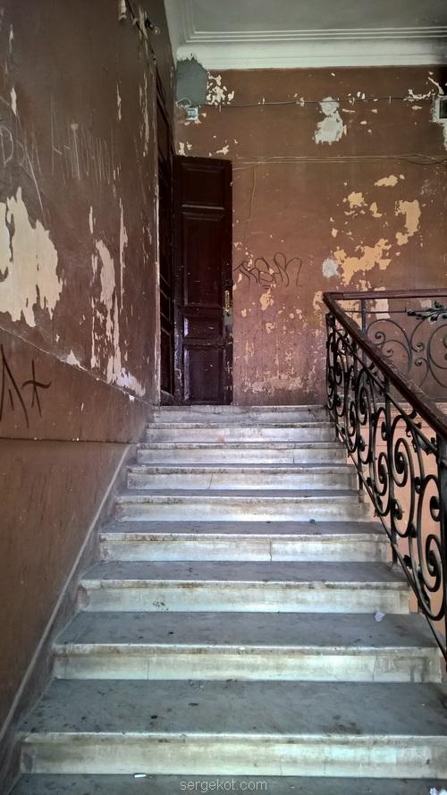 Одесса, Екатерининская, площадь, Парадная, дом, лестница, мрамор.