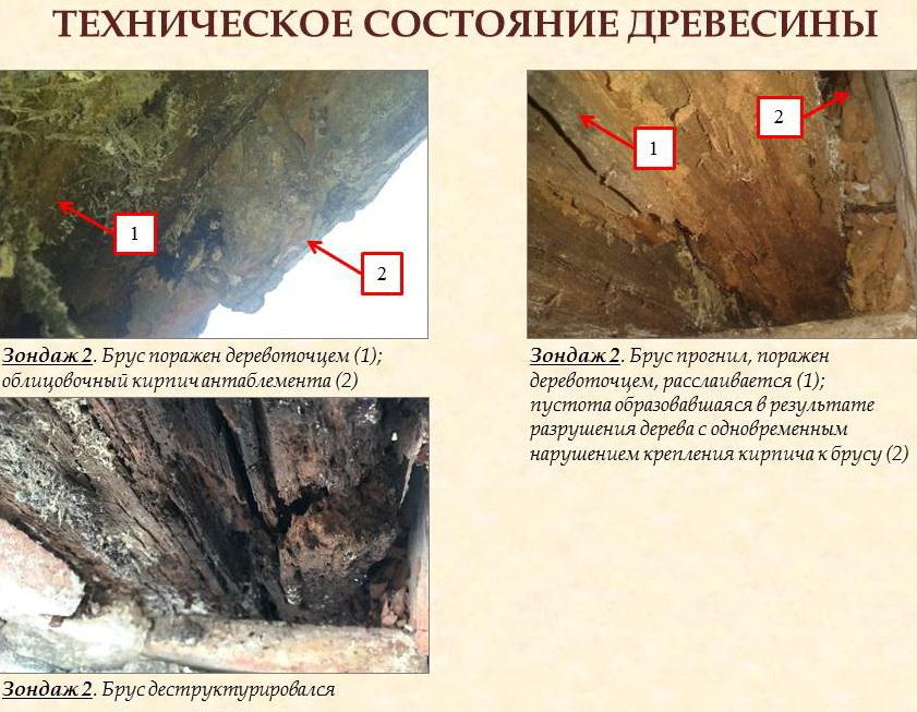 состояние, кровля, древесина, колоннада, жворец, Воронцов