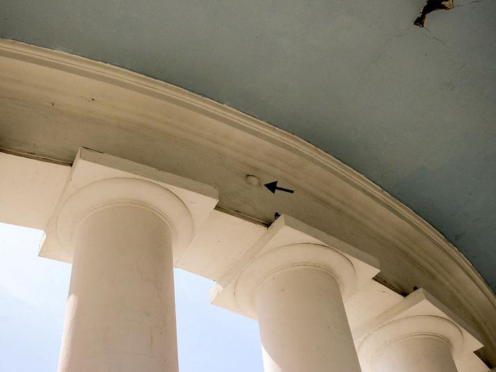 ядро, колоннада, дворец, Воронцов